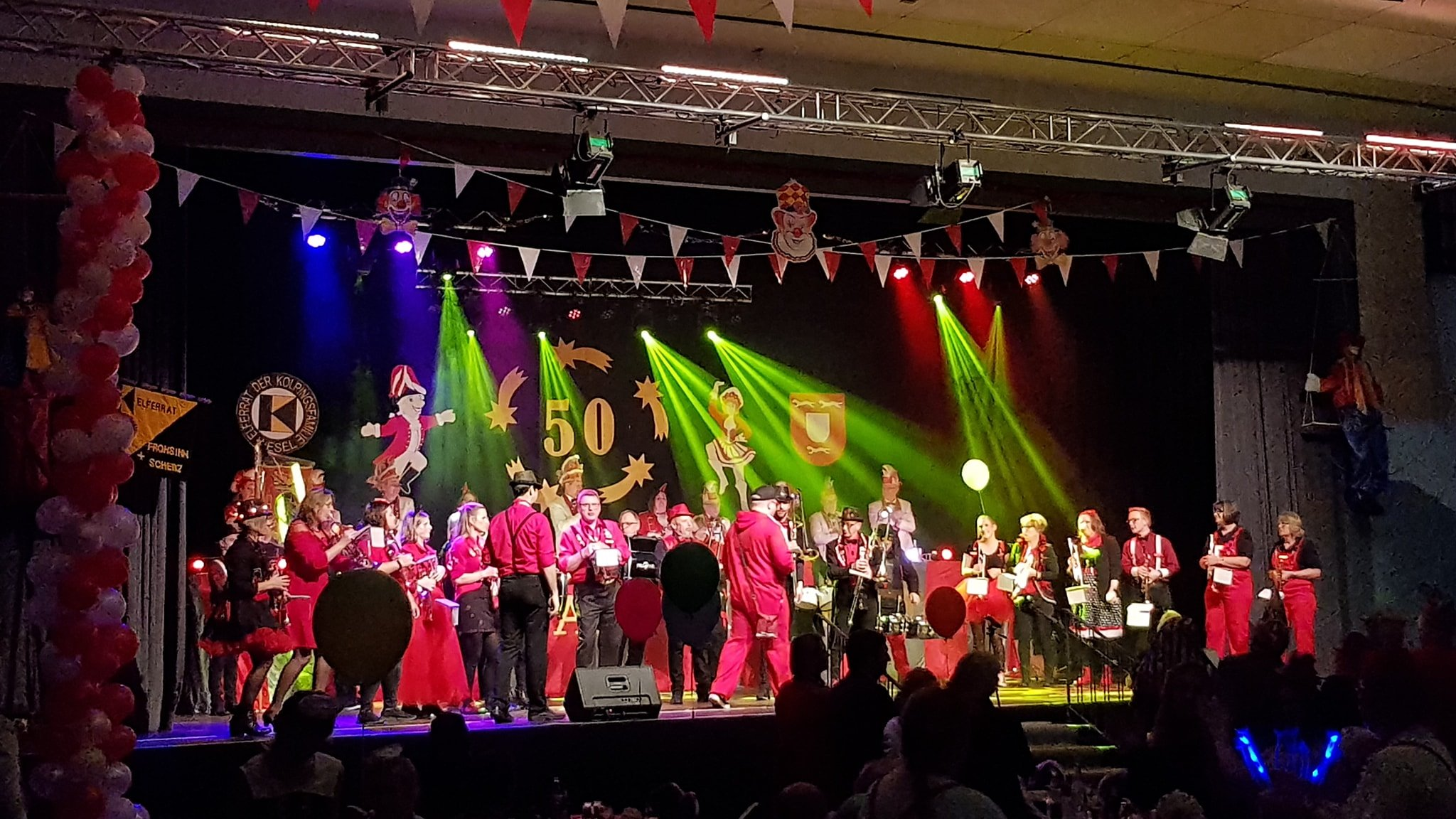 Karnevals-Prunksitzung der Kolpingfamilie in Wesel 2020